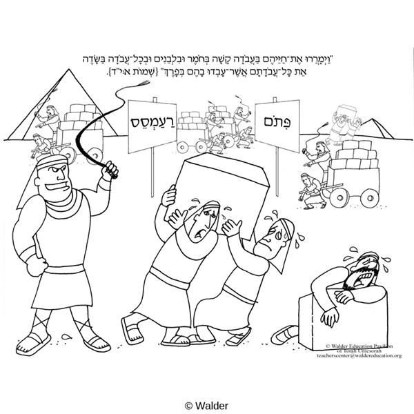 parshat shemot coloring pages - photo#4