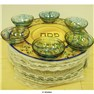 12� Three-Tiered Seder Plate