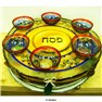 14� Three-Tiered Seder Plate