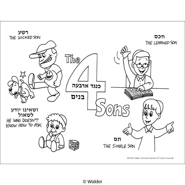 4 Sons Illustrated Description