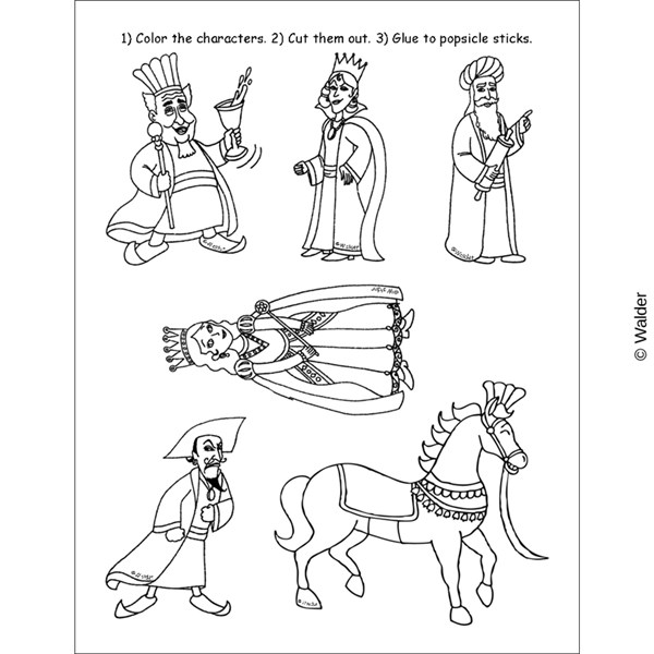 Characters in Megillas Esther