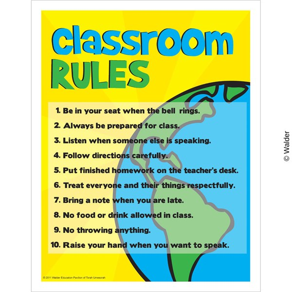 Rules Procedures: 8th Grade Science Rules And Procedures