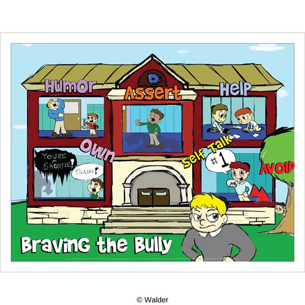 Braving the bully ha ha so humor assert help avoid self talk own