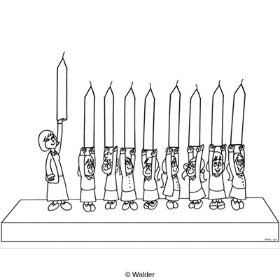 Children as Menorah