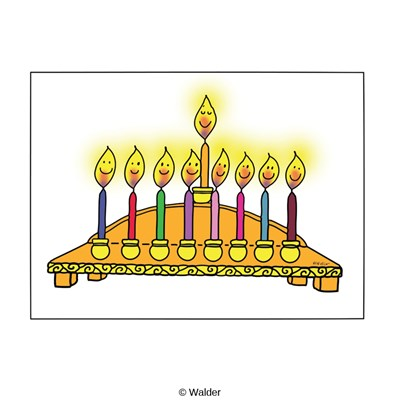 Candle Menorah