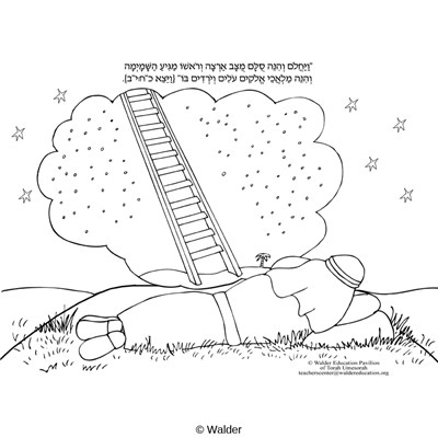 vayeitzei coloring pages - photo#2