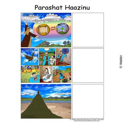 Parshas Haazinu Sequencing in English