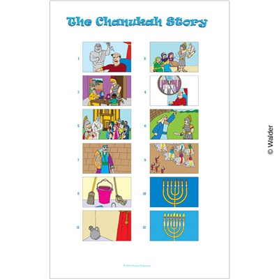 Chanukah Story Sensory Sequencing | Walder Education