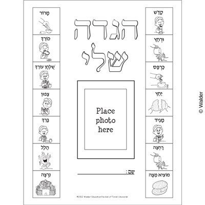 image relating to Printable Haggadah called Seder Pics Haggadah Include Walder Instruction