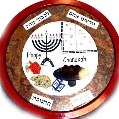 Chanukah Serving Tray