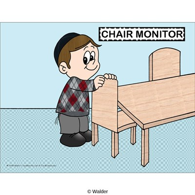 Classroom Jobs:  Chair Monitor