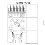 Parshas Bamidbar Sequencing in Hebrew and English