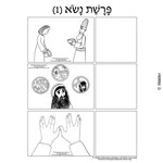 Parshas Naso Pictures Sequencing in Hebrew and English