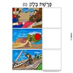 Parshas Balak Sequencing in Hebrew and English