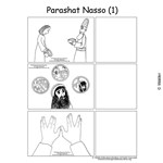 Parshas Naso Sequencing in English