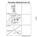 Parshas Behaaloscha Sequencing in English