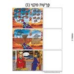 Parshas Mikeitz Sequencing in Hebrew and English