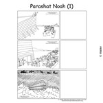 Parshas Noach Sequencing in  English