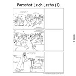 Parshas Lech Lecha Sequencing in  English