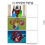 Parshas Shoftim Sequencing in Hebrew and English