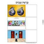 Parshas Nitzavim Sequencing in Hebrew and English