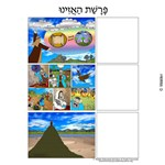 Parshas Haazinu Sequencing in Hebrew and English
