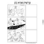Parshas Vaeira Sequencing in Hebrew and English