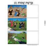 Parshas Shemos Sequencing in Hebrew and English