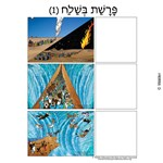 Parshas Beshalach Sequencing in Hebrew and English