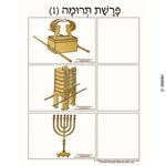 Parshas Terumah Sequencing in Hebrew and English