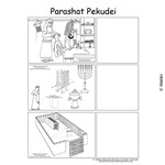Parshas Pekudei Sequencing in English