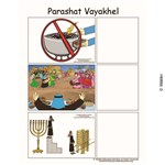Parshas Vayakhel Sequencing in English