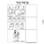 Parshas Behar Sequencing in Hebrew and English