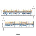 Alef Beis Print and Script Desk Strip