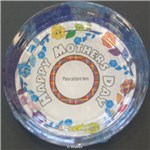 Mother�s Day Decoupage Plate (Hebrew and English Versions)