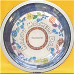 Glass Mother�s Day Decoupage Plate