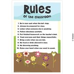 rules of the classroom wacky flowers