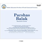 Parshas Balak Interactive Smartboard Lesson