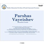 Parshas Vayeishev Interactive Smartboard Lesson
