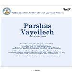 Parshas Vayeilech Interactive Smartboard Lesson