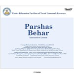 Parshas Behar Interactive Smartboard Lesson
