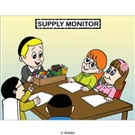 Classroom Jobs:   Supplies Monitor