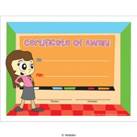 Certificate of Award for Girls