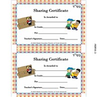 Sharing Certificate