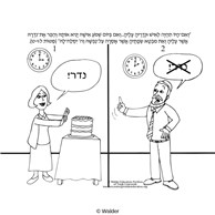 Parshas Matos Pictures with Pesukim in Hebrew