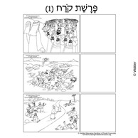 Parshas Korach Pictures with Hebrew Pesukim