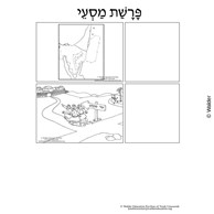 Parshas Masei Sequencing in Hebrew and English