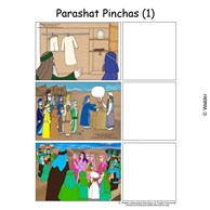 Parshas Pinchas Sequencing in English