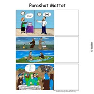 Parshas Matos Sequencing in English