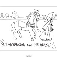 Put Mordechai on the Horse